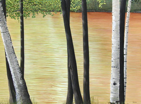 Painting - Muskoka Lagoon by Kenneth M Kirsch