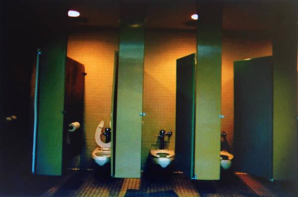 John Schneider Wall Art - Photograph - Must Be The Mens Room by John Schneider