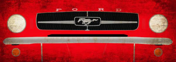 Wall Art - Photograph - Mustang by Mark Rogan