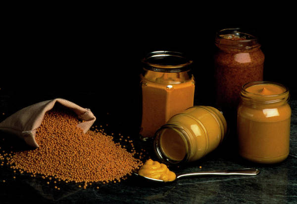 Mustard Photograph - Mustard And Seeds by Th Foto-werbung/science Photo Library