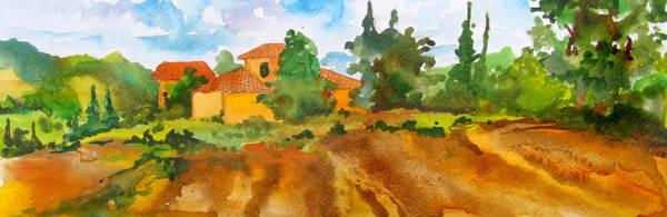 Wall Art - Painting - Mustard Casa by James Huntley
