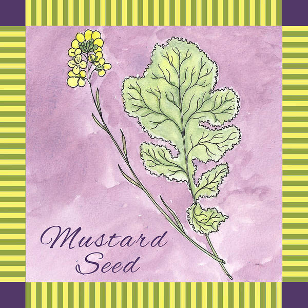 Mustard Painting - Mustard Seed  by Christy Beckwith