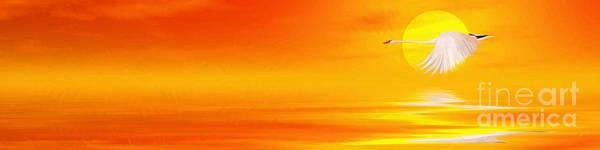 Wall Art - Painting - Mute Sunset by John Edwards