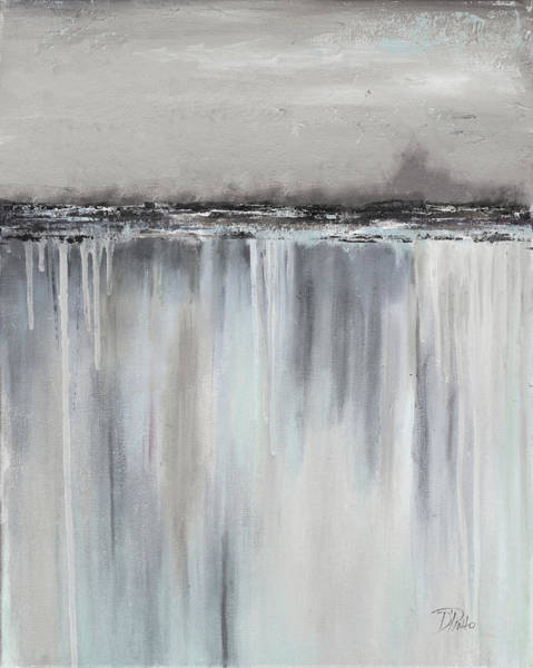 Paysage Wall Art - Painting - Muted Paysage II by Patricia Pinto