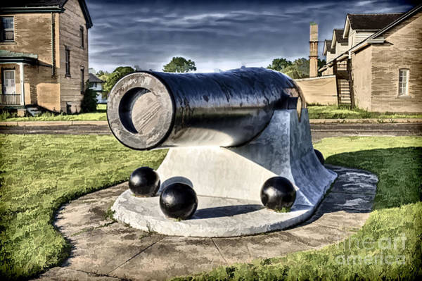 Photograph - Muzzle-loading Cannon  by Jim Lepard