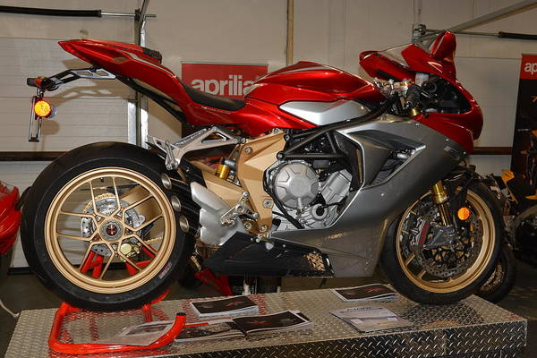 Photograph - Mv Agusta by Lawrence Christopher