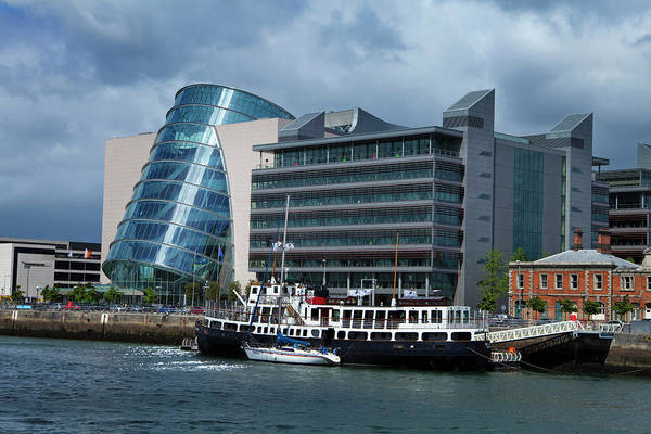 River Liffey Wall Art - Photograph - Mv Cill Airne River Restaurant by Panoramic Images