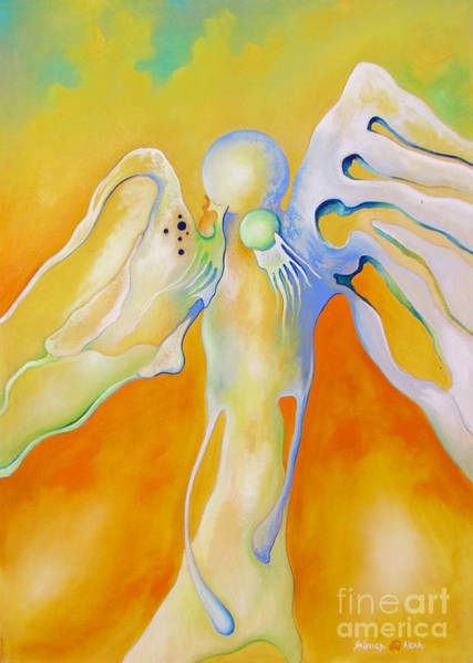 Painting - My Angel by Alexa Szlavics