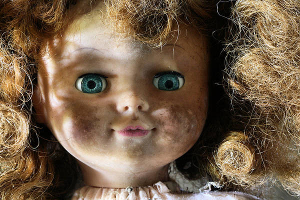 Chucky Wall Art - Photograph - My Bedroom Eyes by JC Findley