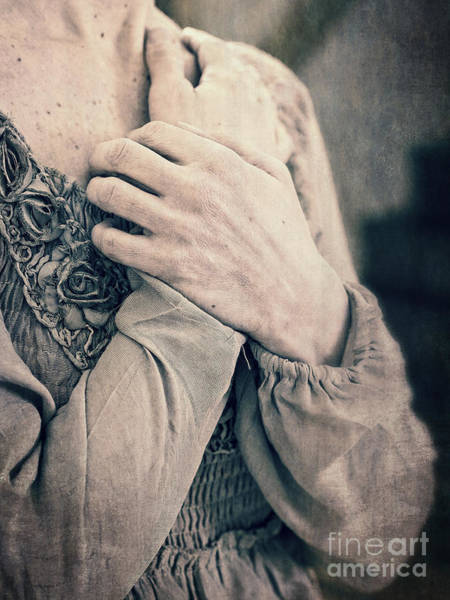 Photograph - My Broken Heart - Victorian Romance by Edward Fielding