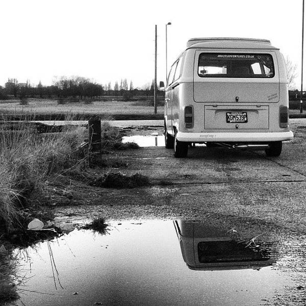 Vw Camper Photograph - My Bus #arniethegreenmachine #vw by Jimmy Lindsay