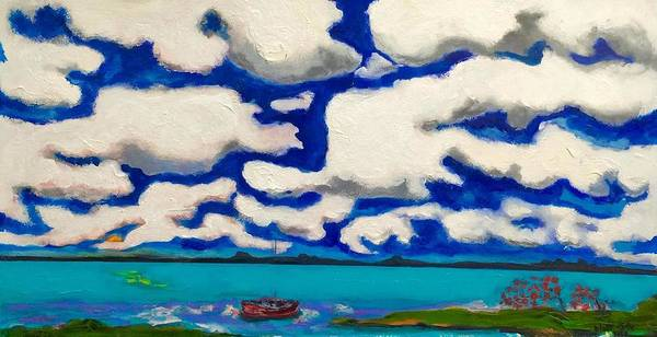 Painting - My Cloud II by Dilip Sheth