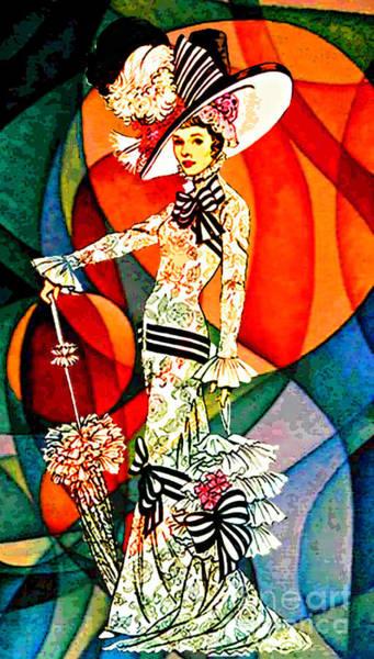 Clothing Design Mixed Media - My Fair Lady by Tammera Malicki-Wong