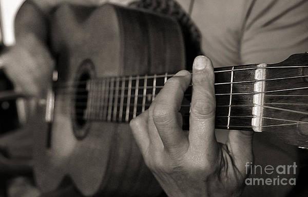 Photograph - My Father's Hands By Diana Sainz by Diana Raquel Sainz