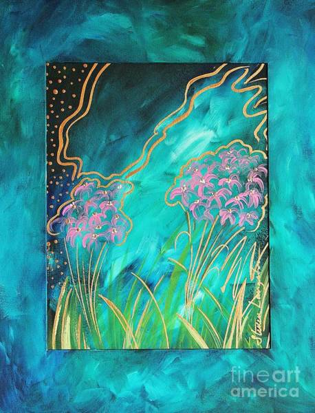 Wall Art - Painting - My Favorite Color by Steven Lebron Langston