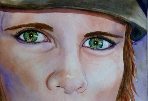 Painting - Tavi's Eyes by Michal Madison