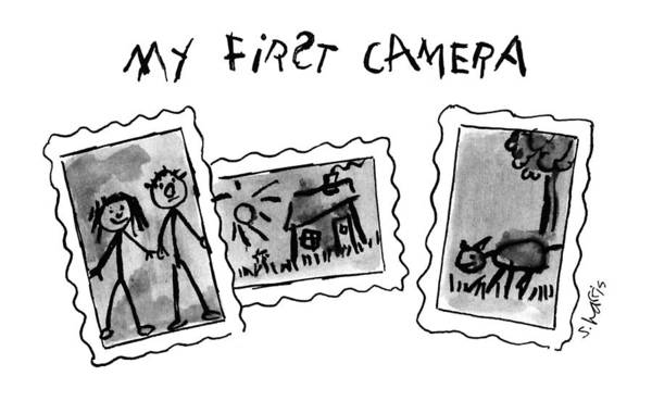 November 11th Drawing - My First Camera by Sidney Harris