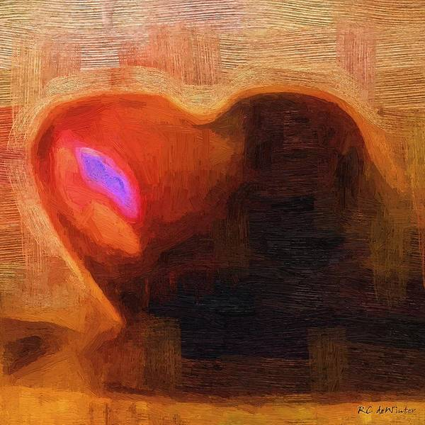 Painting - My Foolish Heart by RC DeWinter