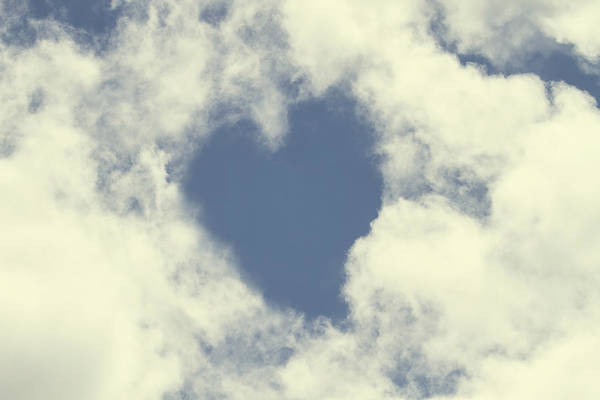 Photograph - My Heart Is In The Clouds by Peggy Collins