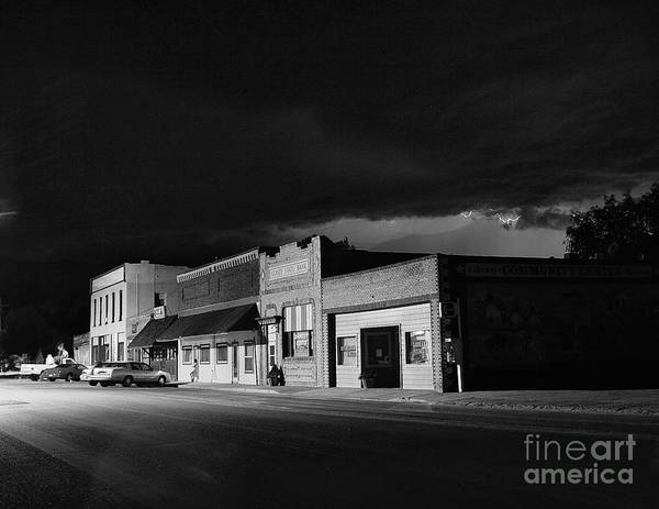 Small Town Photograph - My Home Town II by Steven Reed