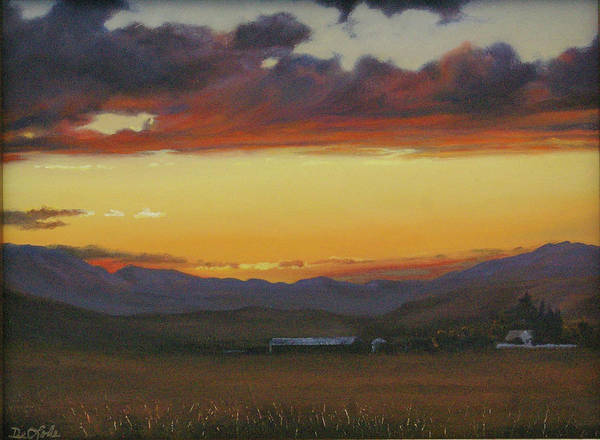 Crazy Mountains Painting - My Home's In Montana by Mia DeLode