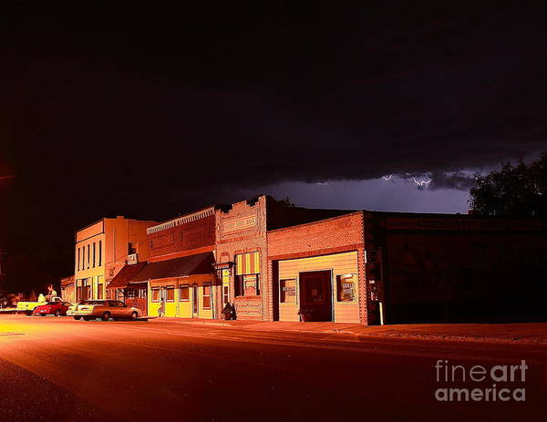 Wall Art - Photograph - My Hometown by Steven Reed