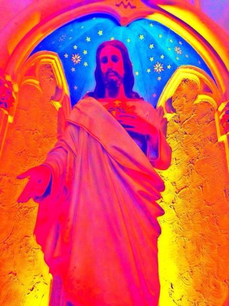 Loretto Chapel Photograph - My Jesus by Sarah Jane Thompson