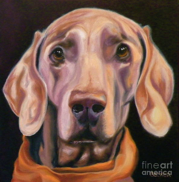Wall Art - Painting - My Kerchief by Susan A Becker