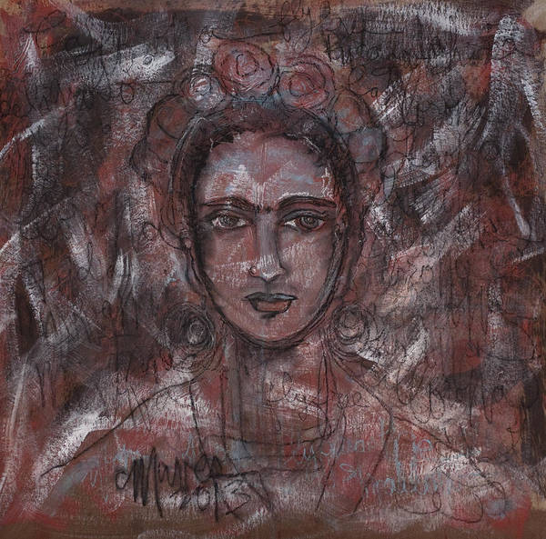 Painting - My Last Frida by Laurie Maves ART