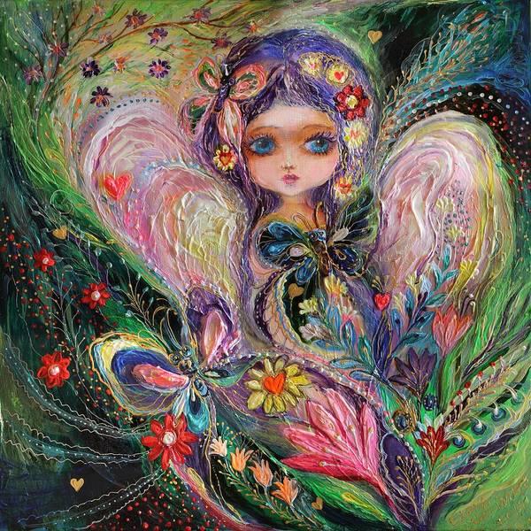 Wall Art - Painting - My Little Fairy Jemima by Elena Kotliarker