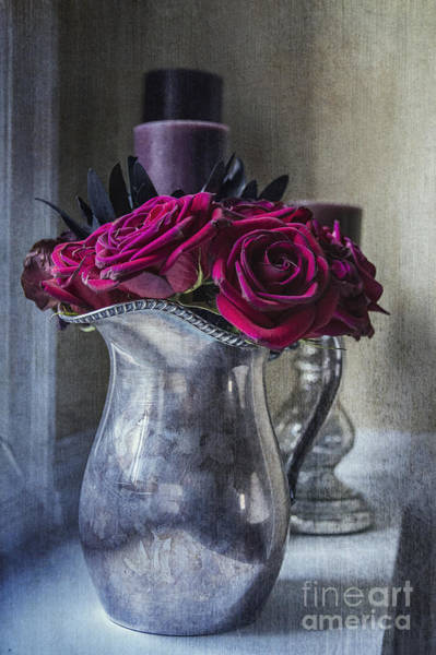 Photograph - My Love Is Like A Red Red Rose by Terry Rowe