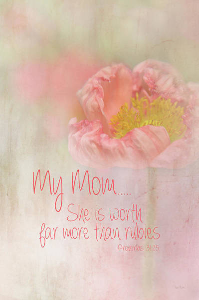 Wall Art - Painting - My Mom Is Priceless by Ramona Murdock