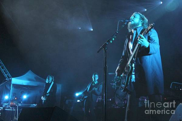 Indie Wall Art - Photograph - My Morning Jacket by Concert Photos