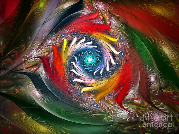Digital Art - My My Beautiful Laundrette-fractal Art by Karin Kuhlmann
