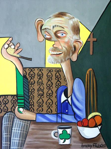 Painting - My Neighbor Joe by Anthony Falbo