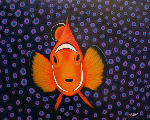 Rhea Painting - My Nemo by Rhea Witthoft