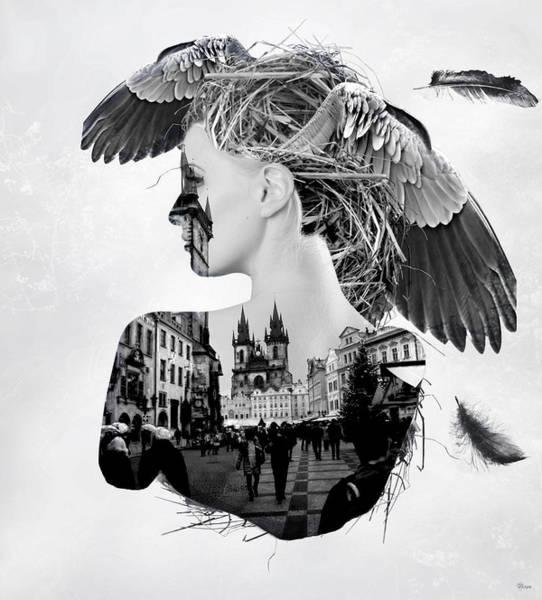 Wall Art - Digital Art - My Nest by Bojan Jevtic