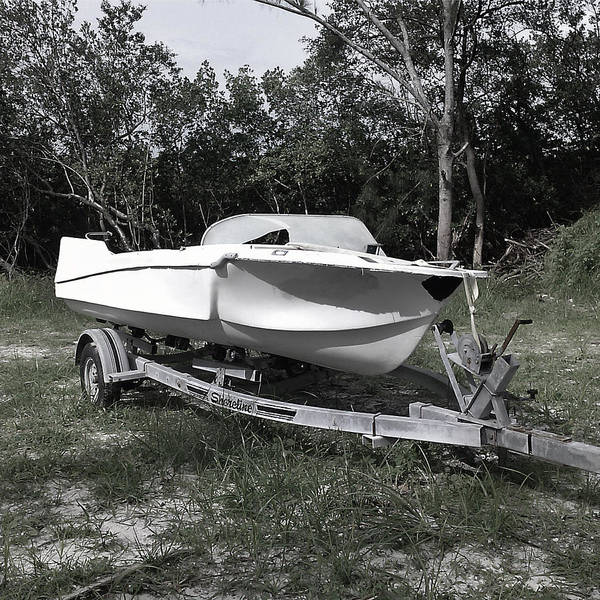 Photograph - My New Boat by Steve Sperry