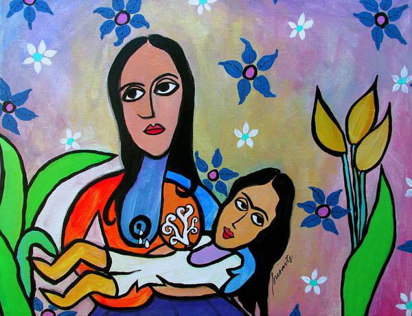 Painting - My Nurse And I by Pristine Cartera Turkus