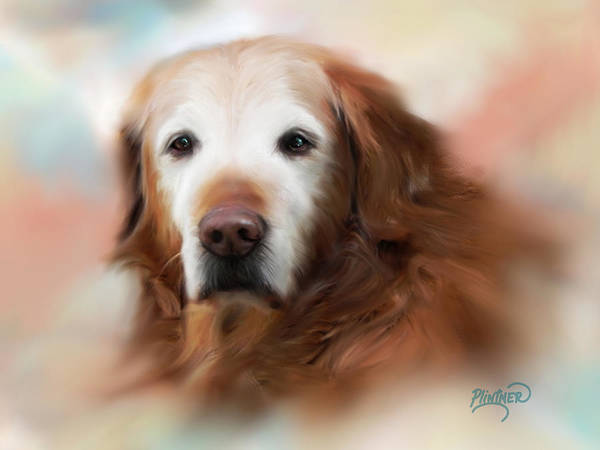 Wall Art - Painting - My Ole Buddy by Patricia Lintner