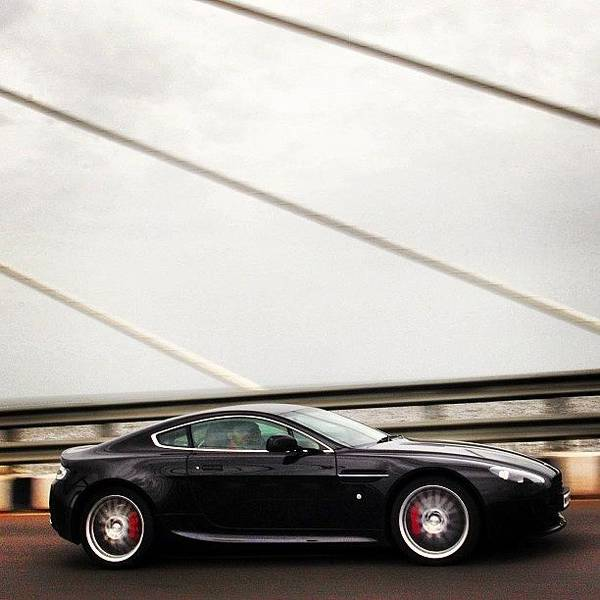 Aston Martin Photograph - My Only Shot On The Sea Link On by Rachit Hirani