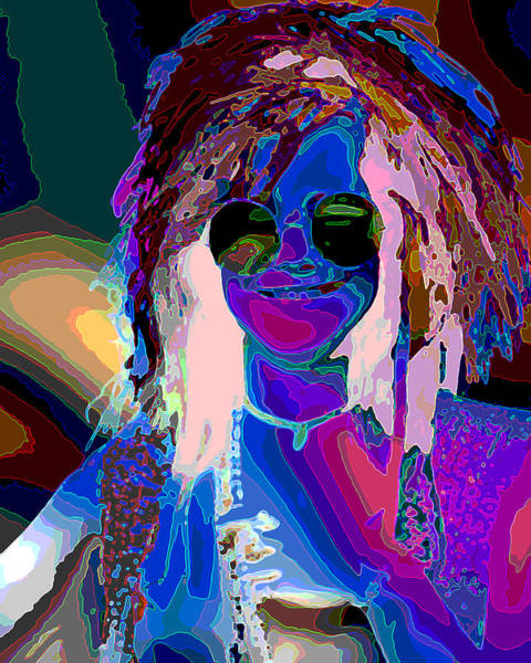 Janis Joplin Photograph - My Pearl by Jimi Bush