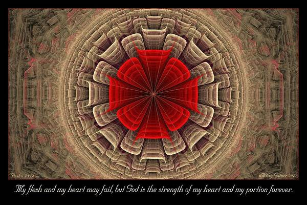Digital Art - My Portion by Missy Gainer
