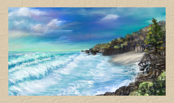 My Private Ocean Art Print