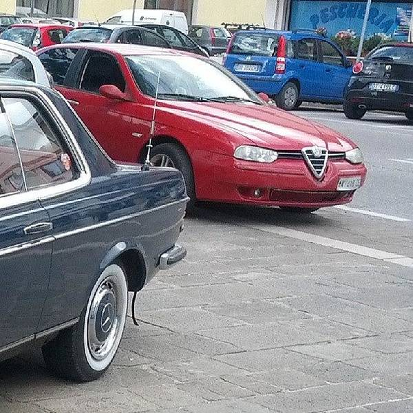 Alfa Romeo Photograph - My Ride by Bogdan Avasiloaei