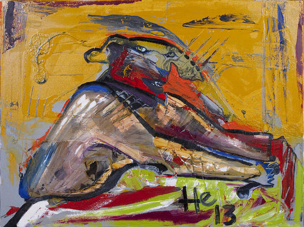 Painting - My Secret Bone by Hans Magden