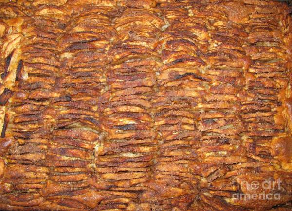 Secret Recipe Photograph - My Special Hommemade Apple Cake by Ausra Huntington nee Paulauskaite