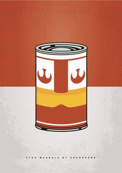 Wall Art - Digital Art - My Star Warhols Luke Skywalker Minimal Can Poster by Chungkong Art