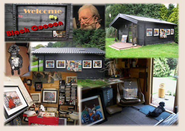 Photograph - My Studio by Val Byrne
