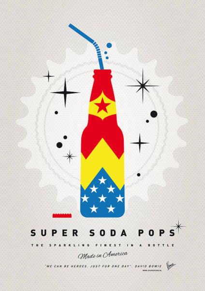 Digital Art - My Super Soda Pops No-04 by Chungkong Art